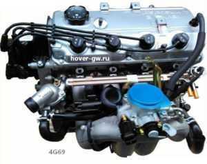 Бензиновый двигатель 2.4 Л Great Wall Hover (Haval H5, H3 Ховер)